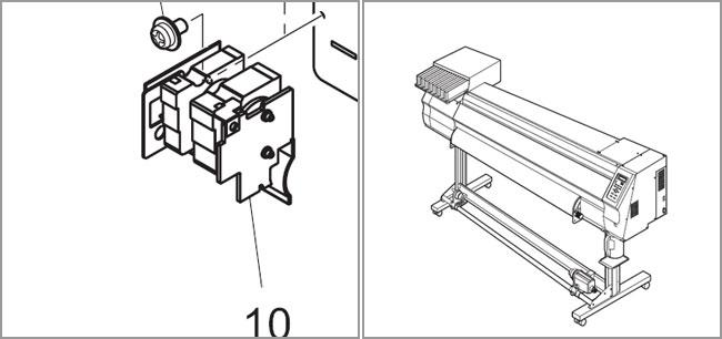 Mimaki JV3 / JV33 / JV5 Solvent Resistant Ink Pump