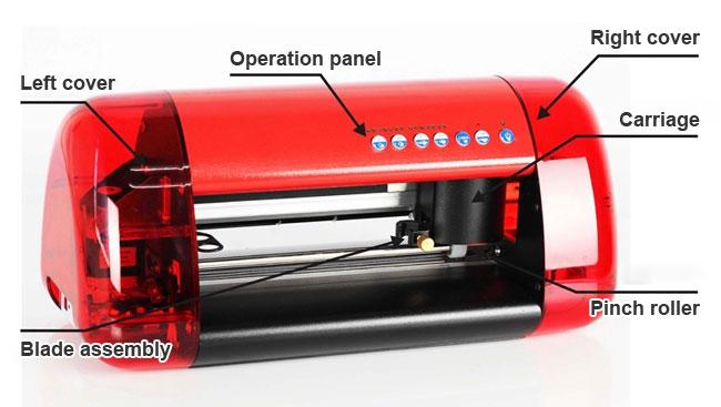 Small Vinyl Printer Cutter