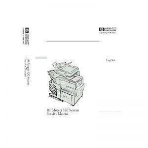 Free Download HP Mopier 320 Printer English Service Manual