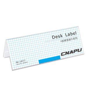 VShaped Desk Label 79 x 30 200 x 76mm 7679