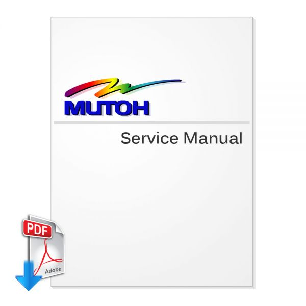 Free Download MUTOH ValueJet 1304 Service Manual (Direct