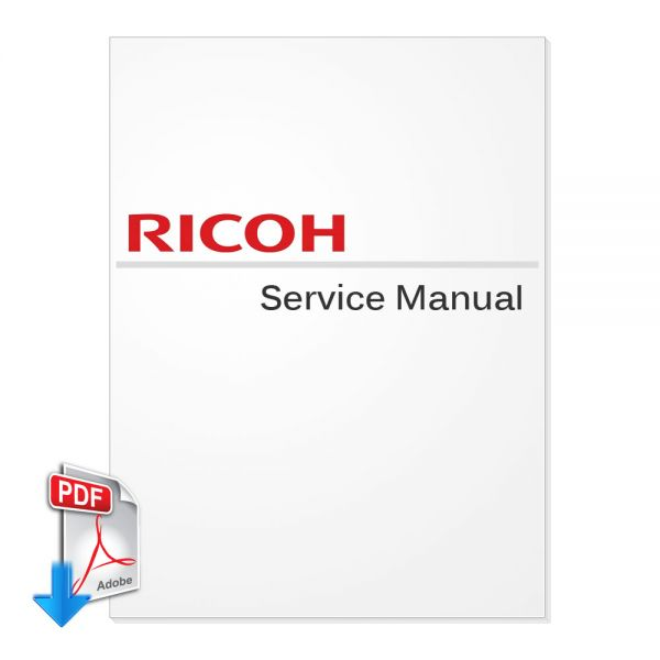 Free Download Ricoh Aficio 3030 Service Manual (Version 2