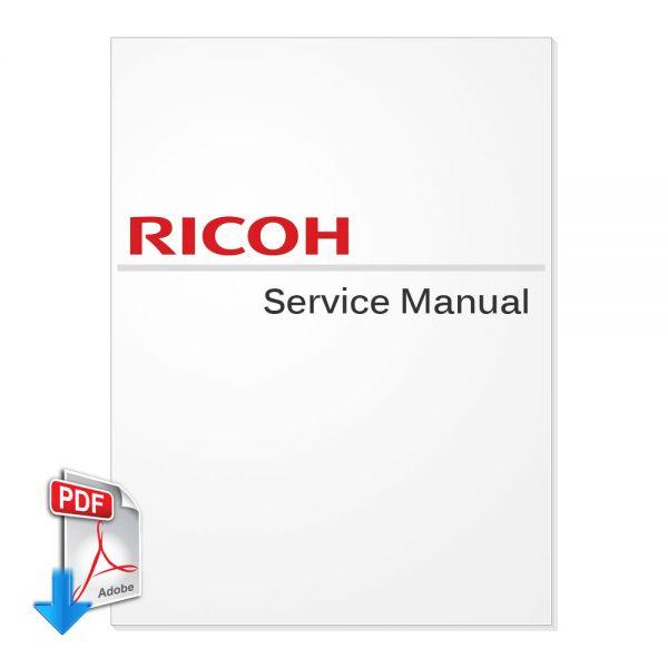 Free Download Ricoh Aficio AP3800C Service Manual (GERMAN
