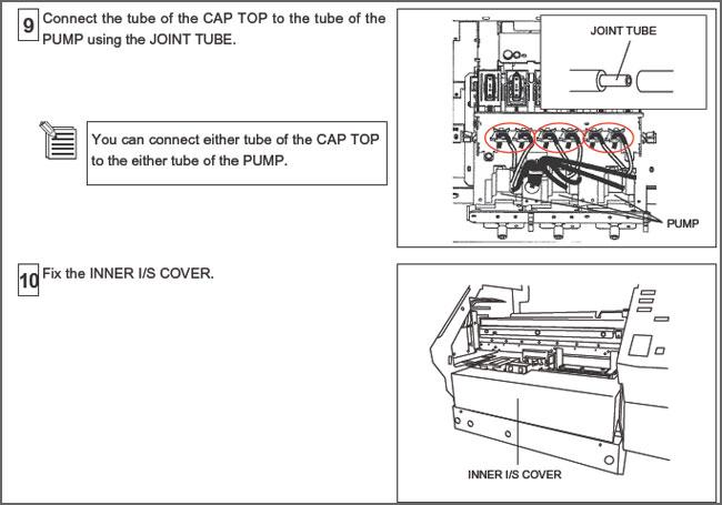 Roland SJ-540 Solvent Resistant Ink Pump $26.79