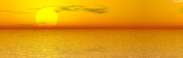 Sunrises and Sunsets Backgrounds for colour artwork