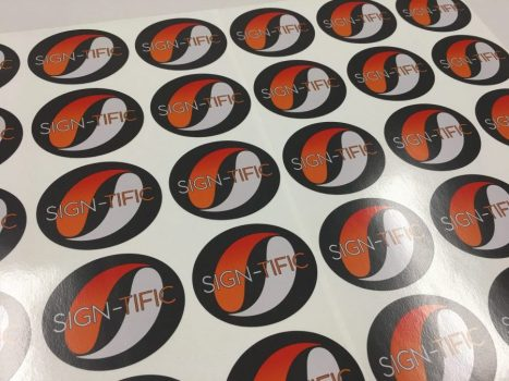 Sign-Tific Stickers