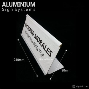 DTS-812 L Angle Changeable Name Plate