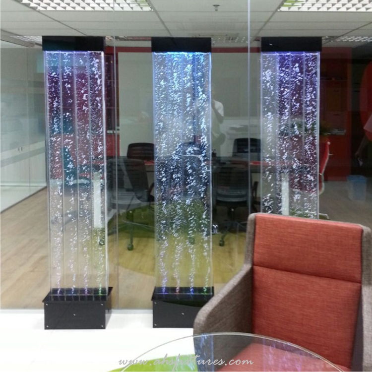 Acrylic Bubble Water Feature Panels Ideal For Home & Office