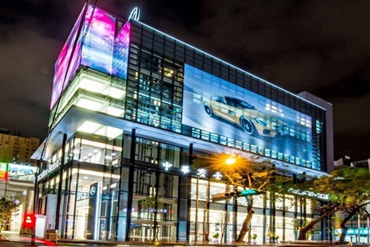 威盛LED電視牆 - VIA Smart Cities