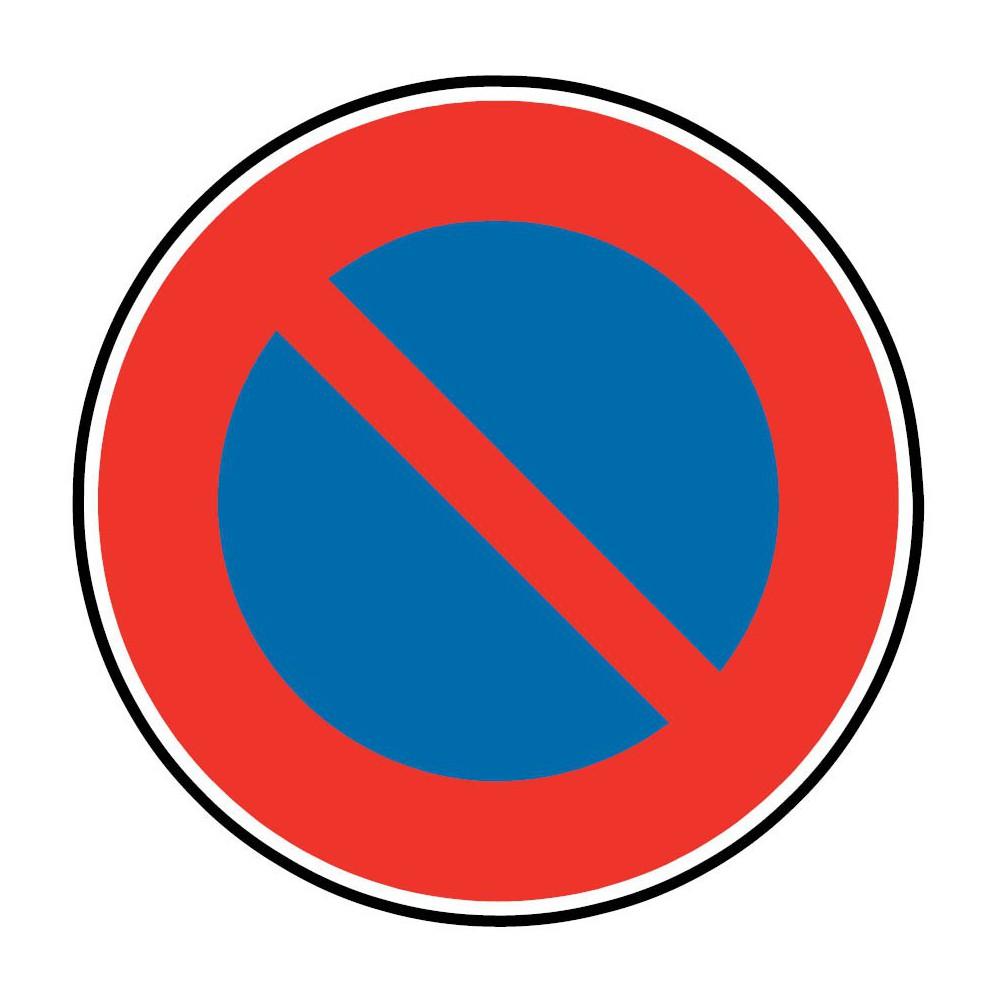 Panneau Stationnement Interdit A Tous Les Vehicules B6a1 Signaletique Express