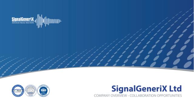 SignalGeneriX Ltd Brochure