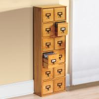 Library CD Storage Cabinet - 12 Drawers at Signals | HA2002