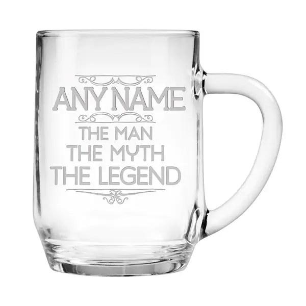 personalized man myth legend