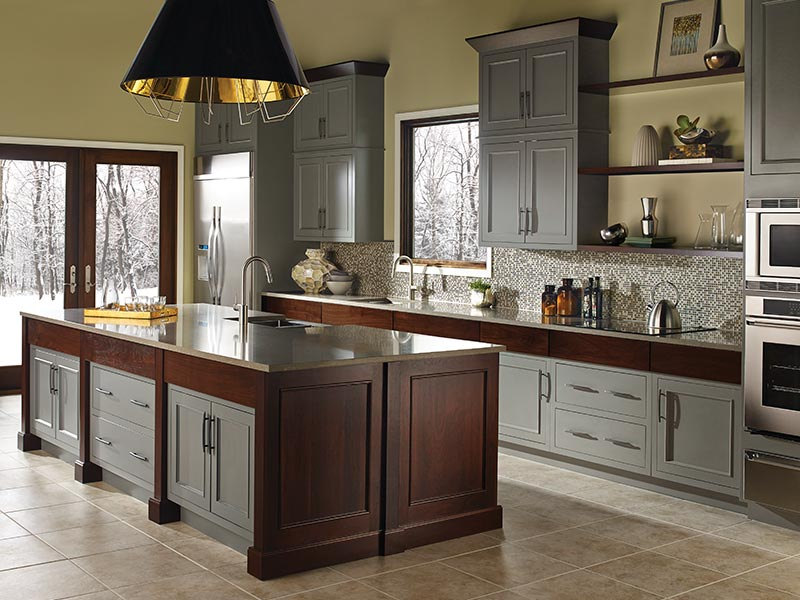 kitchen showrooms rustic pendant lighting bertch cabinets | signature