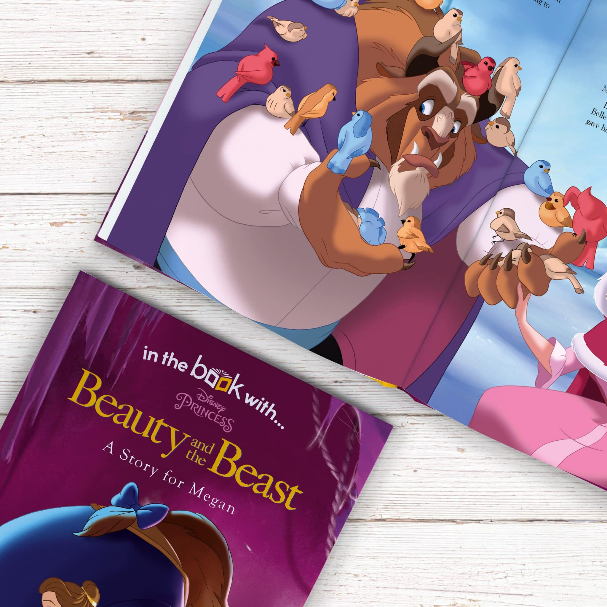 Personalized Disney Beauty Amp The Beast Story Book