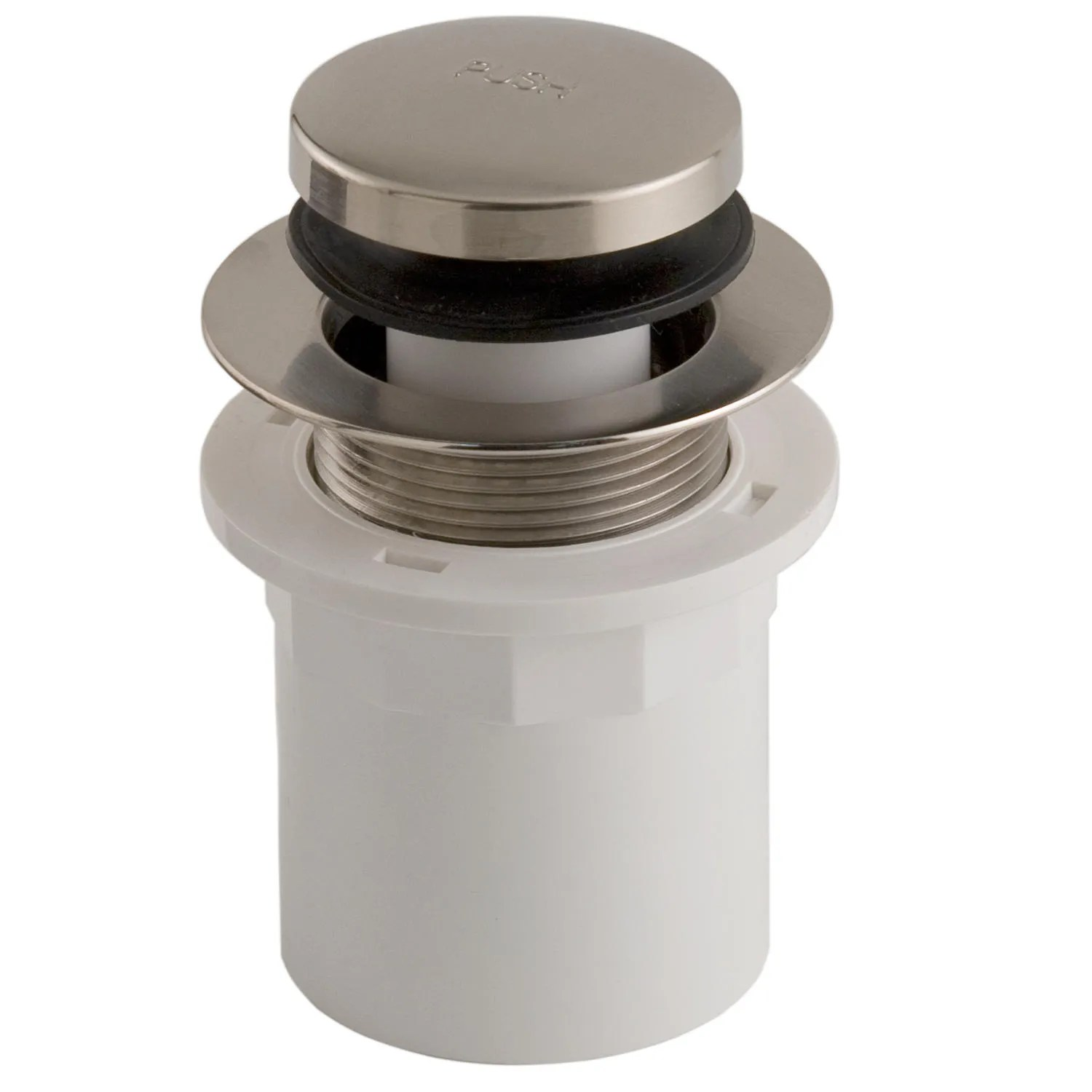 PopUp Tub Drain with Hub Adaptor  Brushed Nickel  eBay