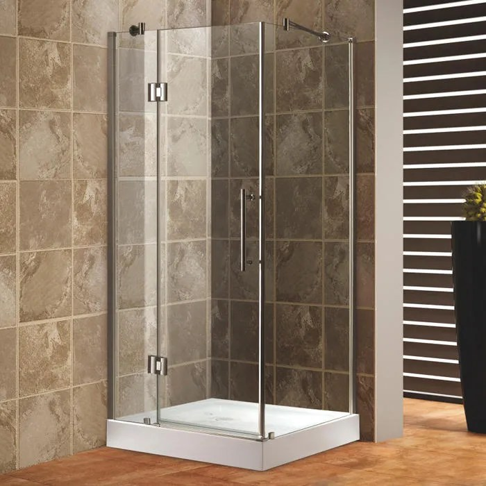Meredith Reversible Corner Shower Enclosure  Bathroom