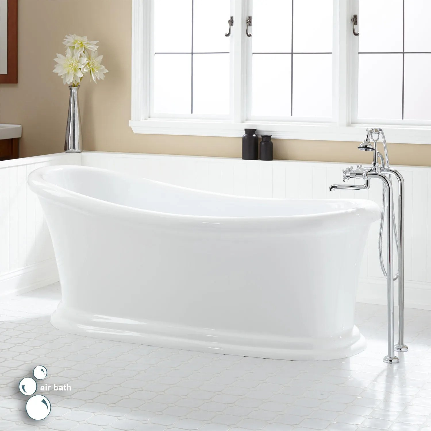 whirlpool and air tubs