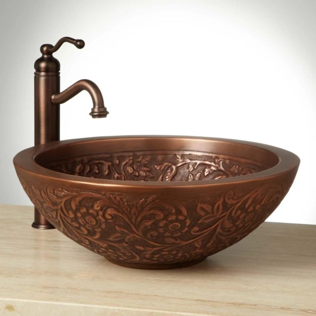 Polished Copper Sink