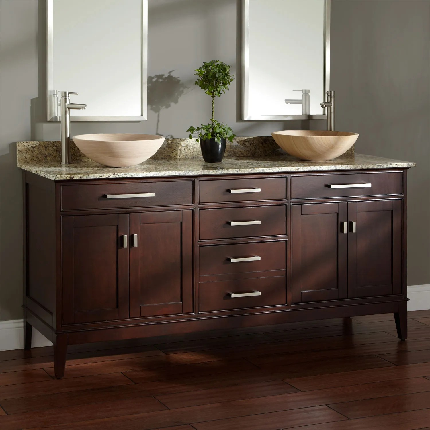 36 Orzoco Vessel Sink Vanity  Bathroom