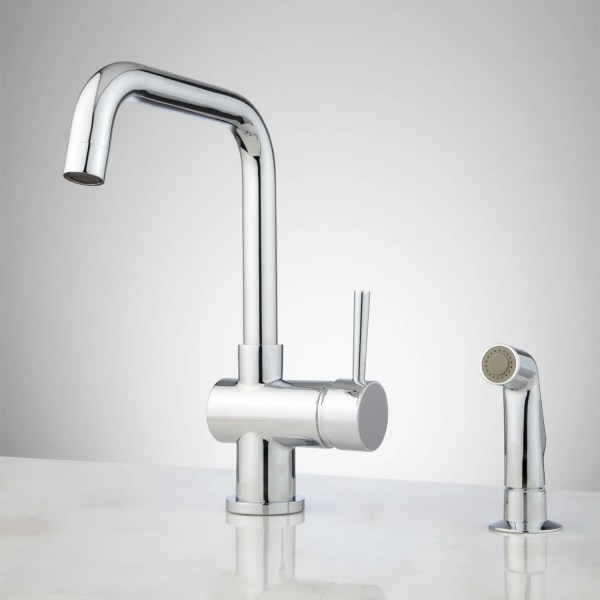 Side Spray Kitchen Faucet Signature Hardware