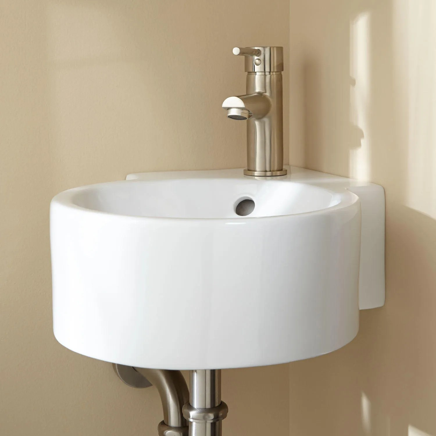 Corner Bathroom Sinks Corner Pedestal Sinks  Signature Hardware