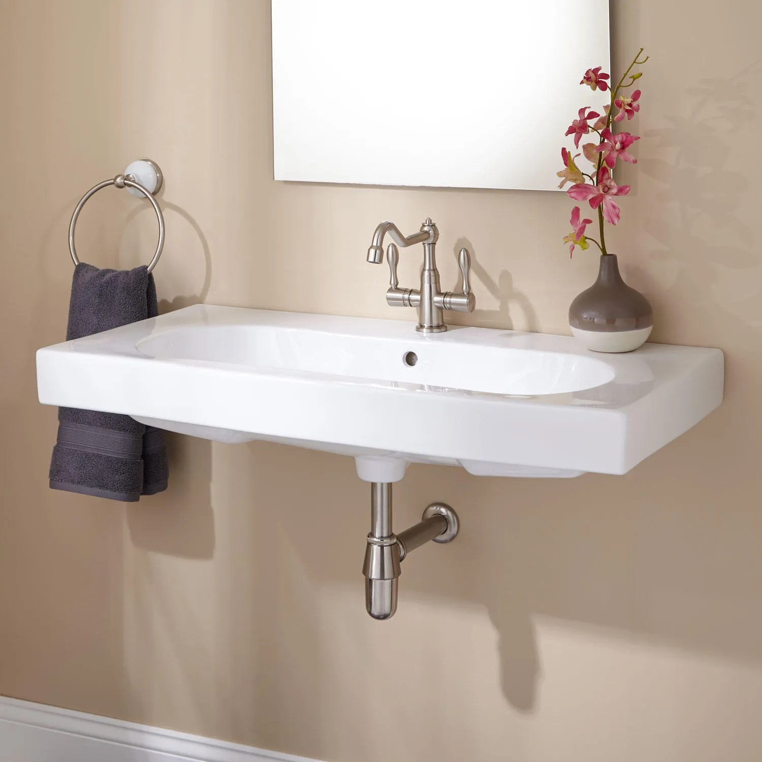 Yaromir WallMount Bathroom Sink
