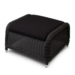 Resin Wicker Chair With Ottoman Indoor Hanging For Bedroom Outdoor Furniture Signature Hardware