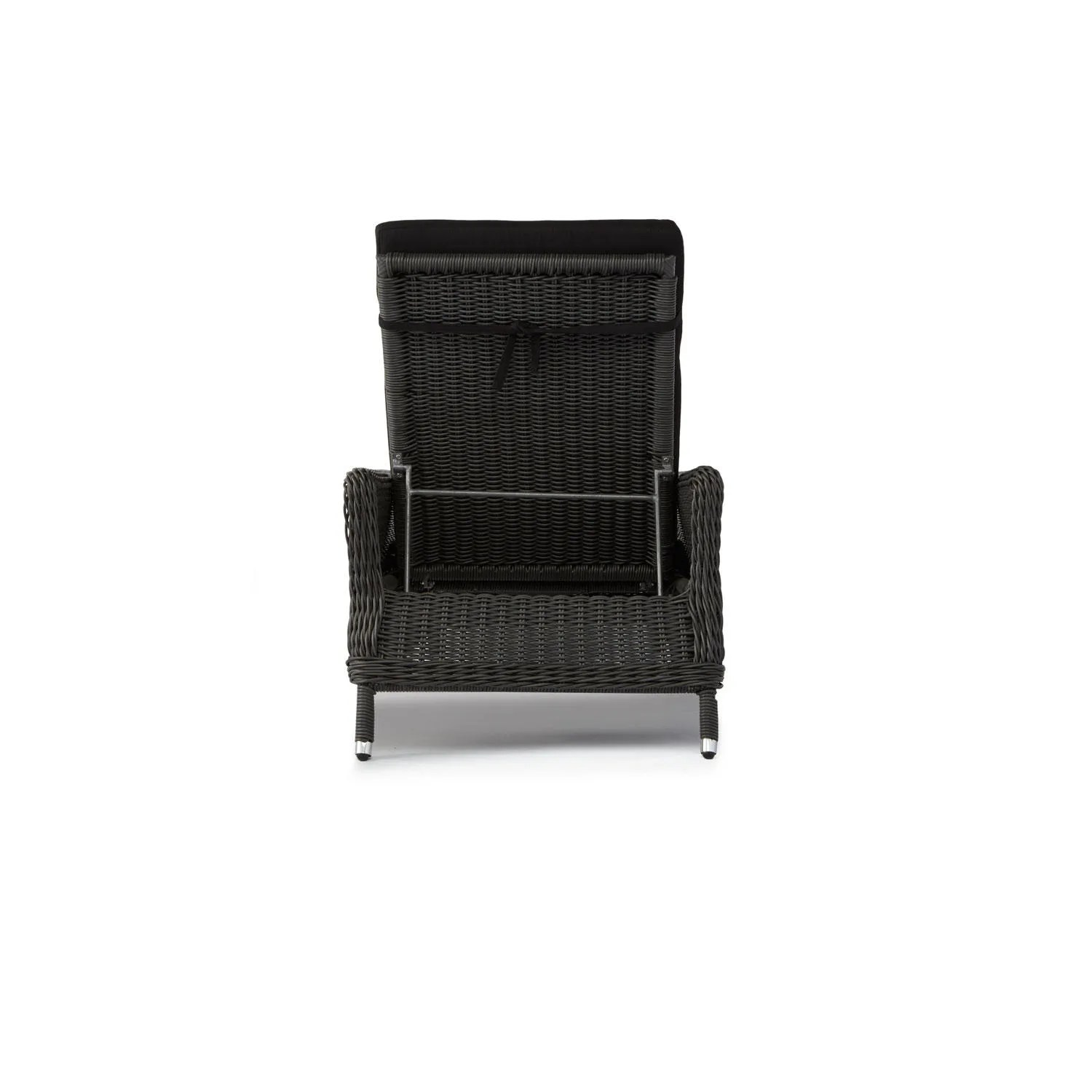 resin wicker lounge chairs massage cushion for chair signature hardware alcee chaise