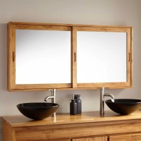 Wooden Mirrored Bathroom Cabinets. bathroom makeover ...