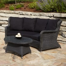 Michio Resin Wicker Outdoor Coffee Table
