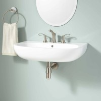 Halden Wall-Mount Bathroom Sink - Bathroom