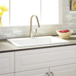 30 Kitchen Sink How To Arrange Pots And Pans In Ayeshire Cast Iron Drop White