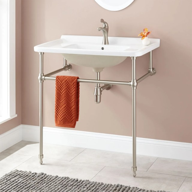 Rectangle Console Sink