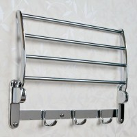 Folding Towel Rack - Bathroom