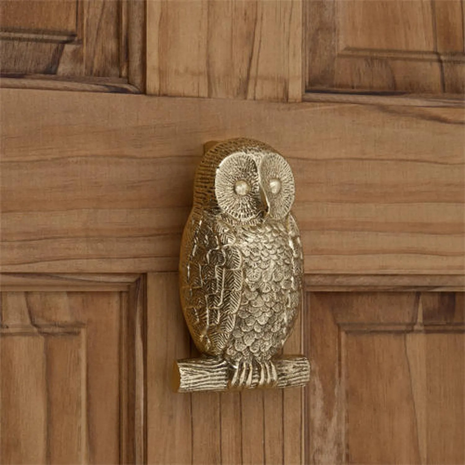 Owl Brass Door Knocker  Hardware