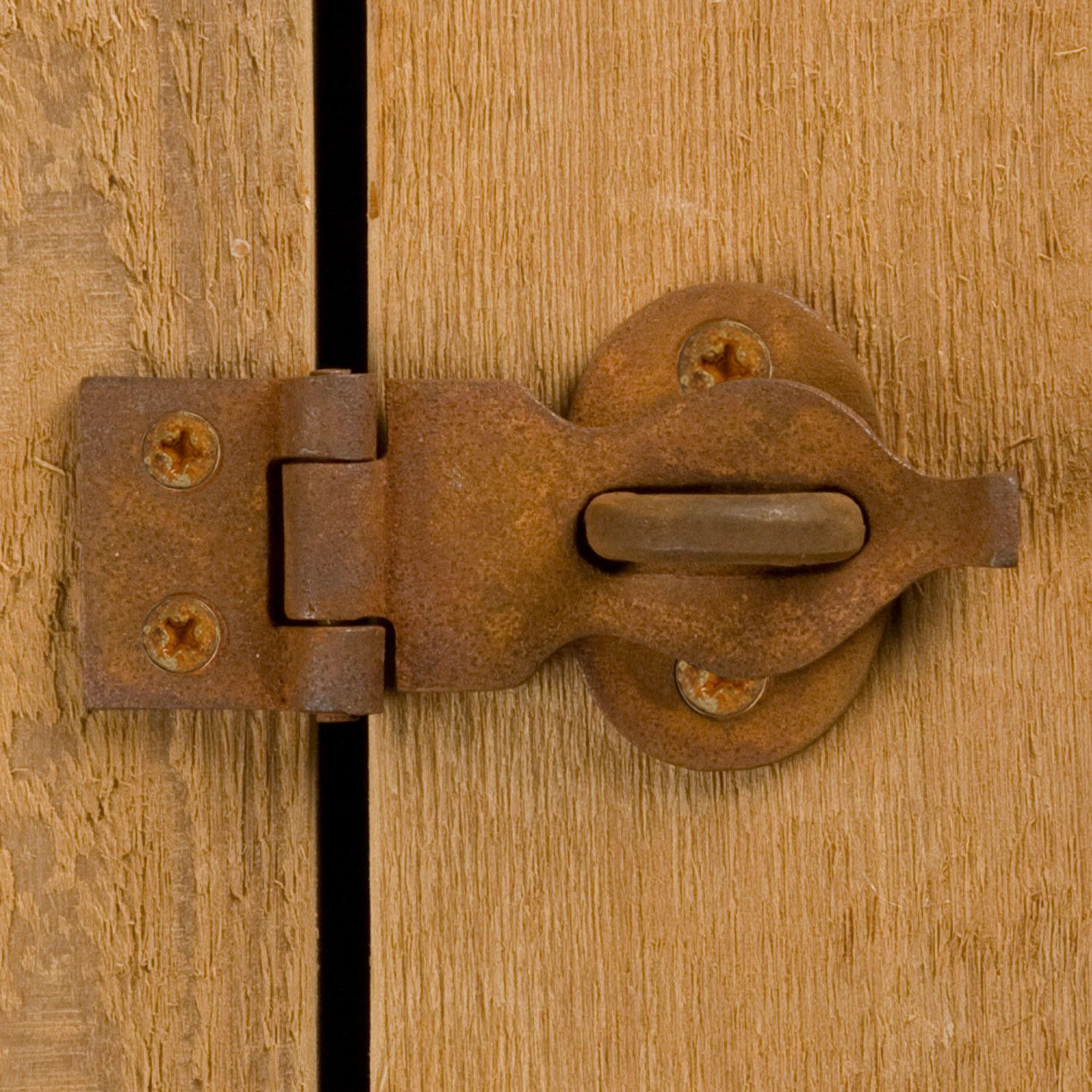 Small Decorative Trunk Hasp  Hardware