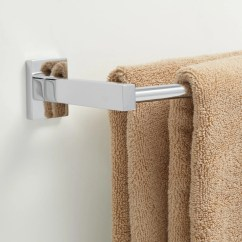 Kitchen Cabinet Pulls And Handles Eat In Island Helsinki Double Towel Bar - Bathroom