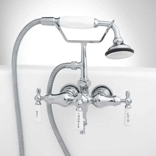 Tub Mounted Faucets Rim Mounted Tub Faucets