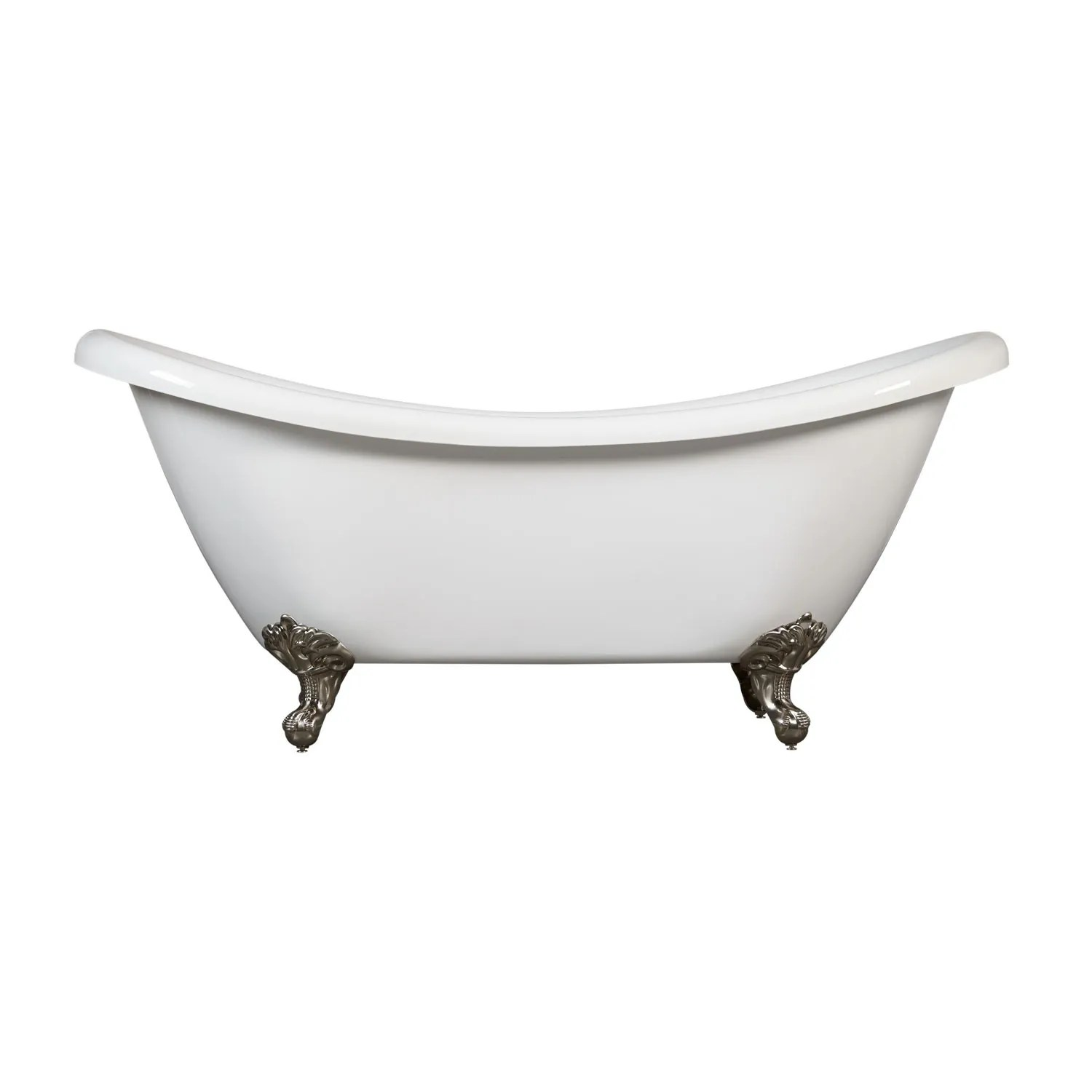 69 Candace Acrylic Clawfoot Tub Imperial Feet Bathroom