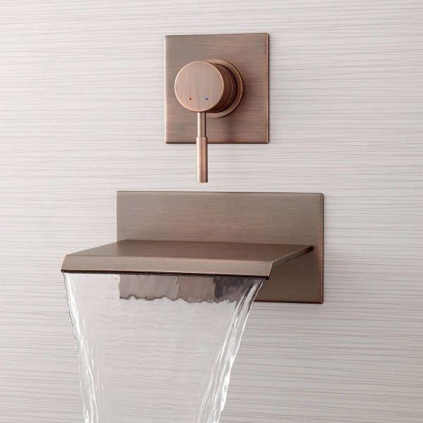 Wall Mount Waterfall Tub Faucet