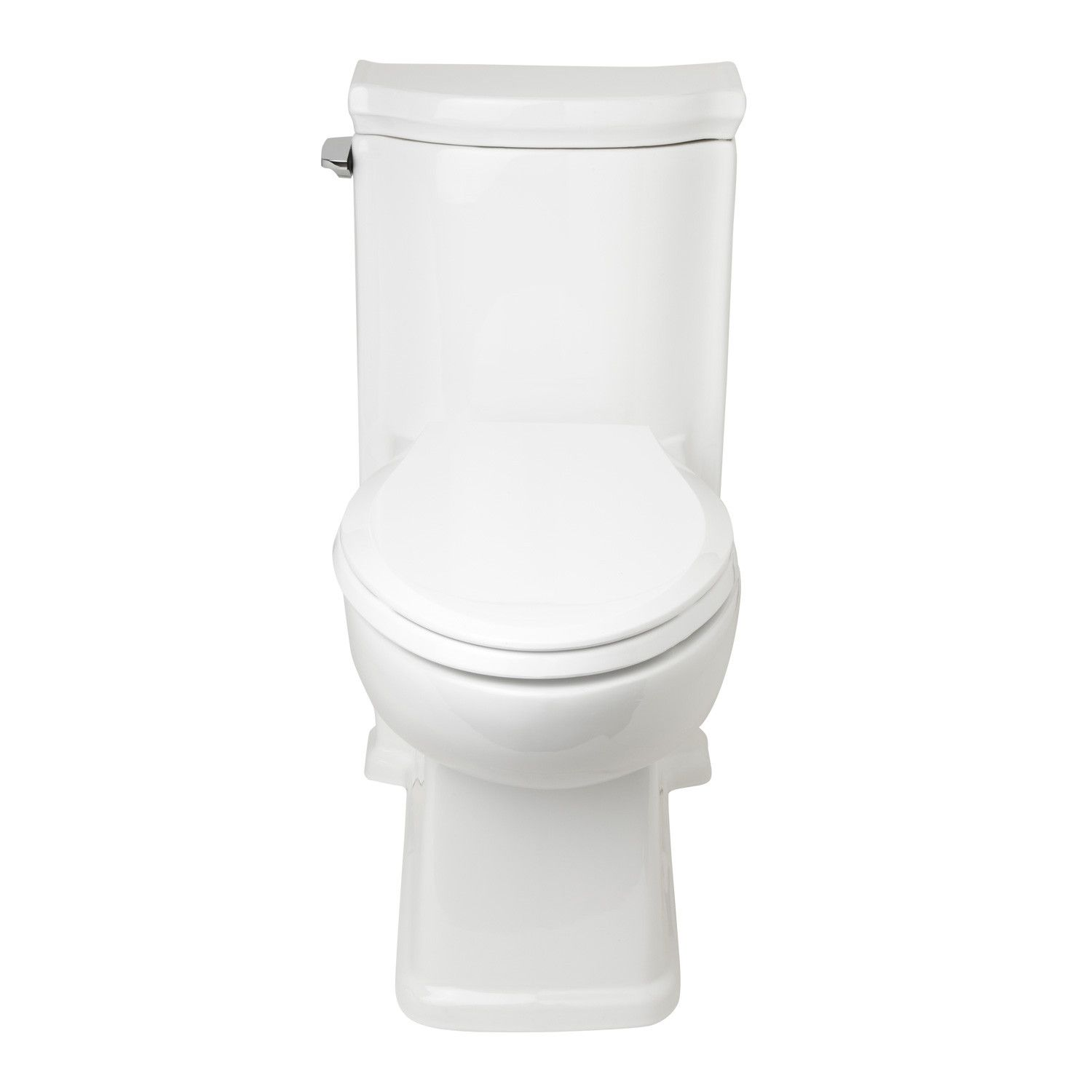 Halcott OnePiece Siphonic Toilet  Elongated  White