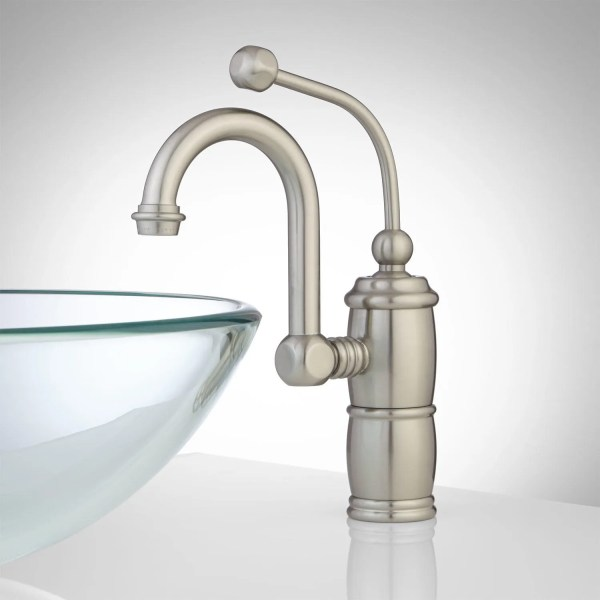 single hole bathroom faucet with pop up drain Marcella Single-Hole Bathroom Faucet with Pop-Up Drain
