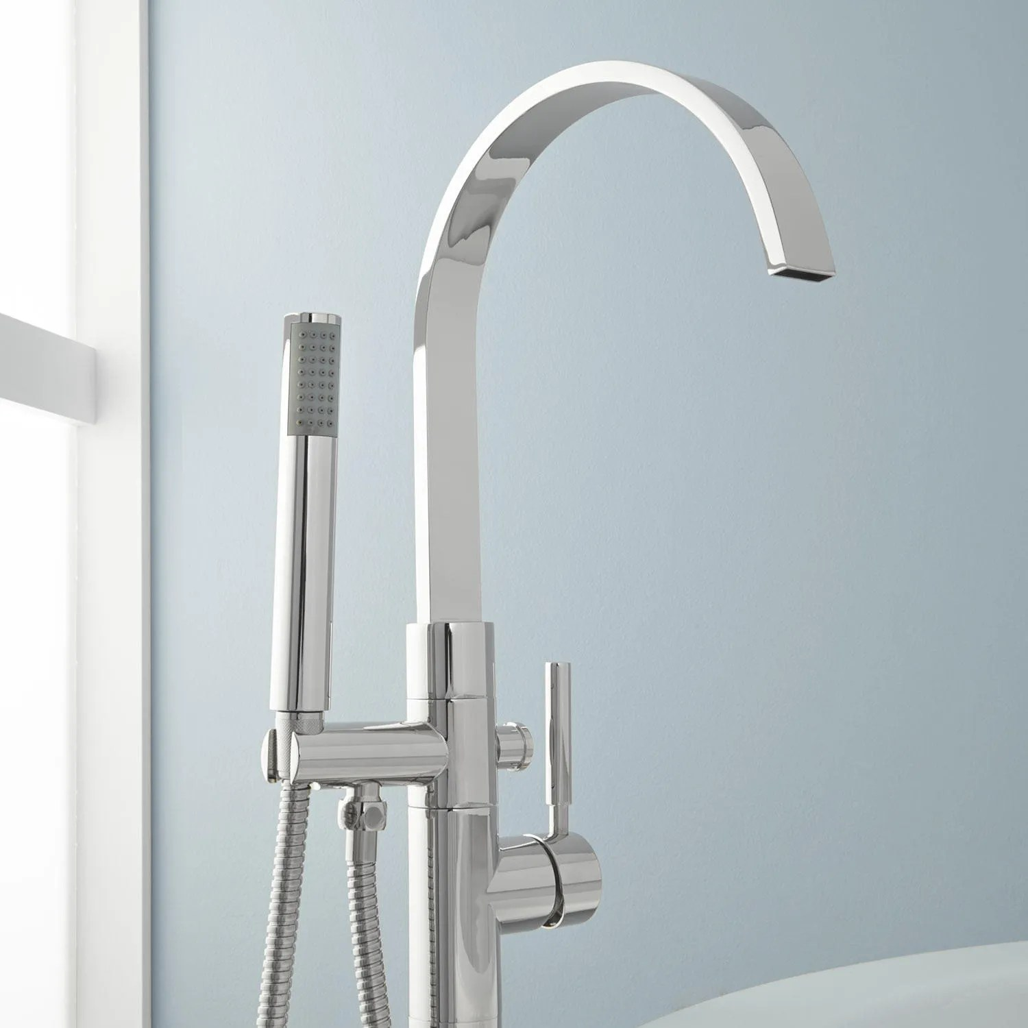 Benkei Freestanding Tub Faucet and Hand Shower  Tub