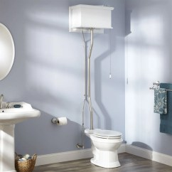 Kitchen Handles And Pulls Apron Sinks White High Tank Pull Chain Water Closet With Elongated ...