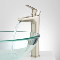 Pagosa Waterfall Vessel Faucet - Bathroom Sink Faucets ...