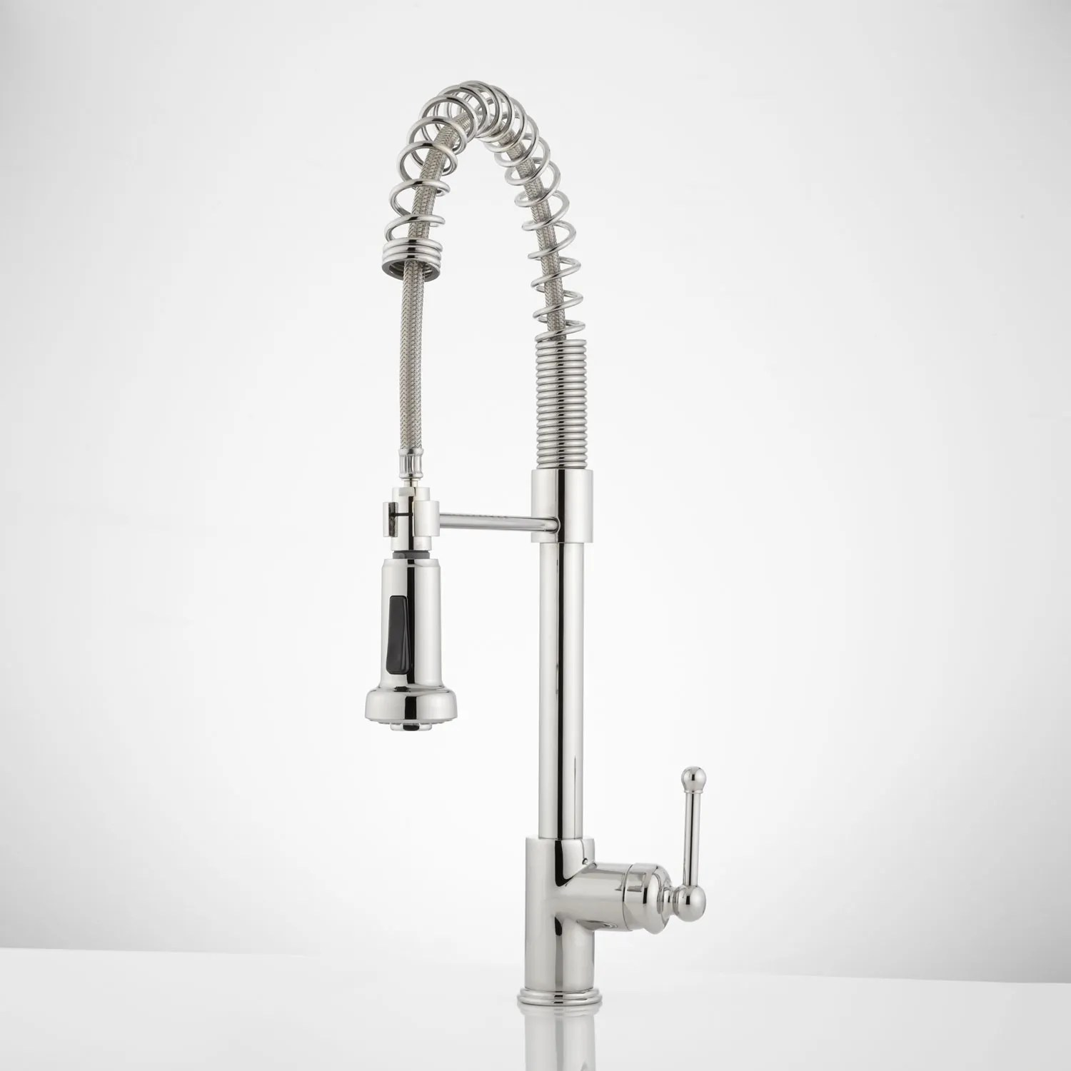 kitchen faucet pull out stools ikea rachel pull-down with spring spout ...