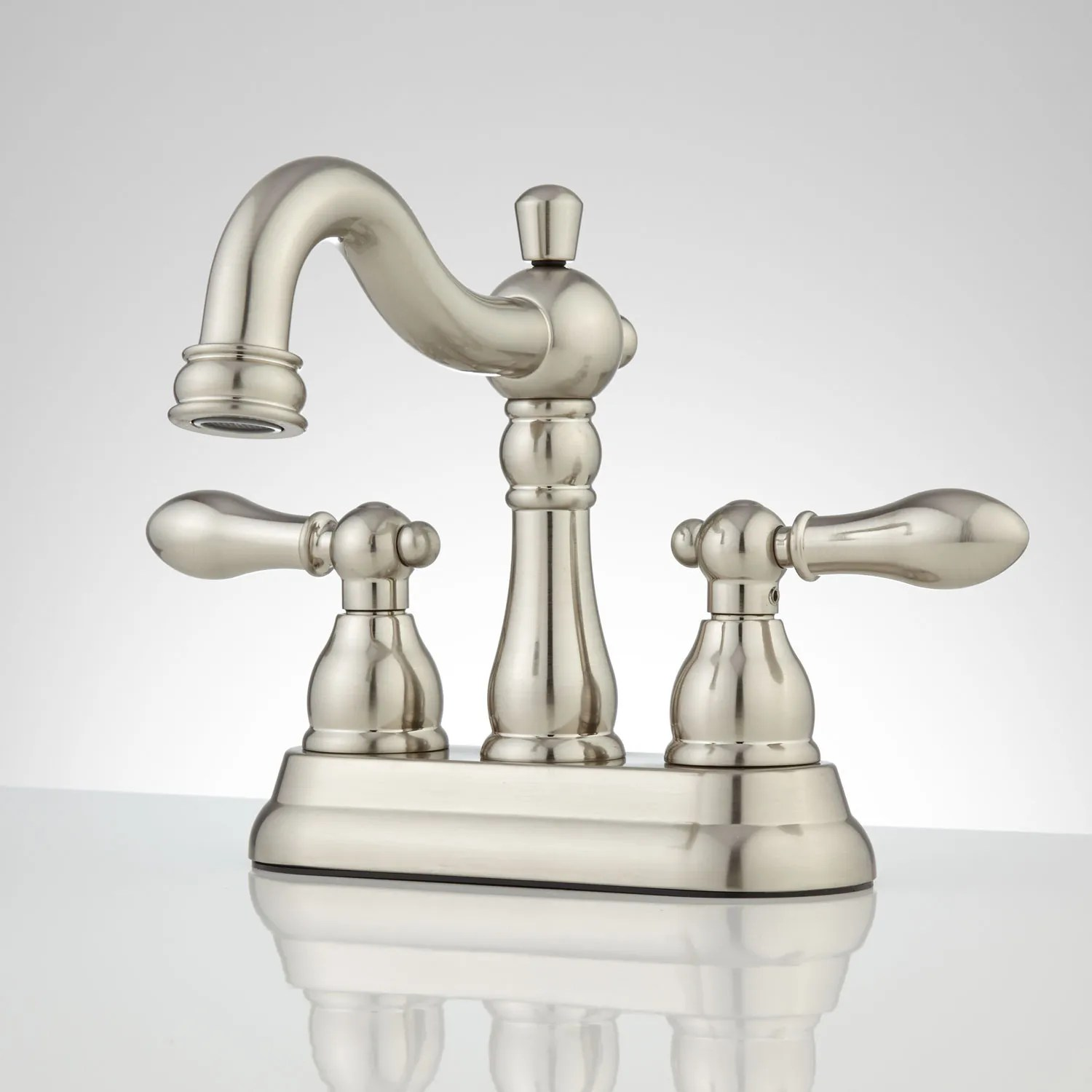 Menza Centerset Bathroom Faucet  4 Centerset Faucets  Bathroom Sink Faucets  Bathroom
