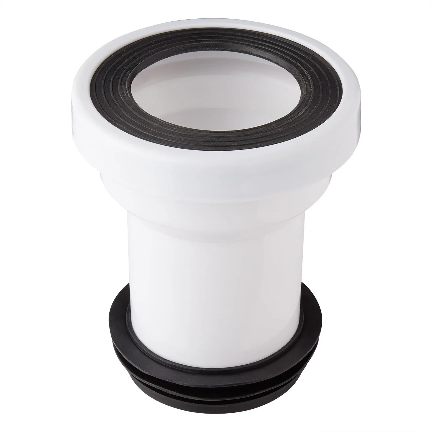 Rear Outlet Toilet P Trap Connector White Bathroom