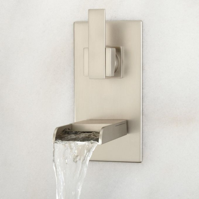 Willis WallMount Bathroom Waterfall Faucet  Bathroom